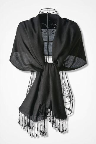 Soft Embrace Wrap, Black, large