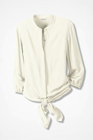 Tie-the-Knot Blouse, Seasalt, large