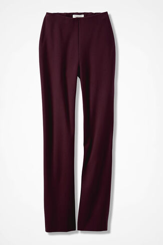 Ponte Perfect® Holly Pants, Cassis, large