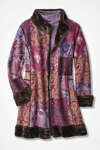 Winter Moods Coat, Multi, large