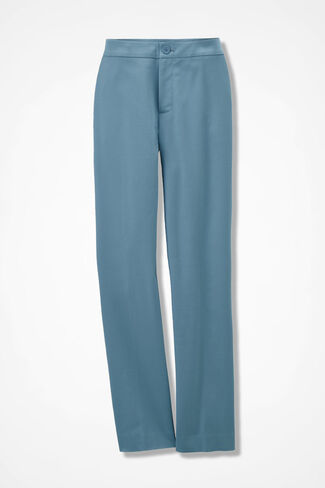 CottonLuxe® Ankle Pants, Lagoon, large