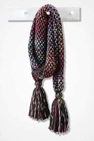Winding River Scarf, Multi, large