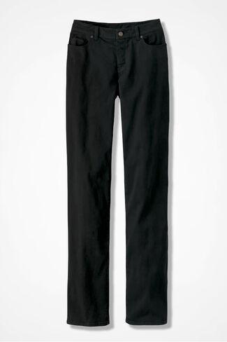 Curvy Classic ShapeMe® Jeans, Black, large