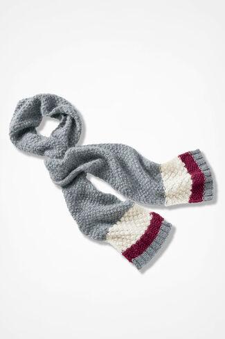Winter Wonderful Scarf, Grey, large
