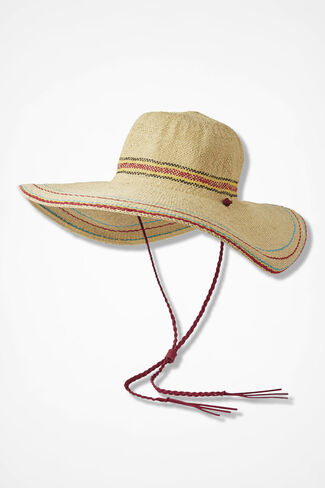 Suncatcher Wide Brim Hat, Natural, large