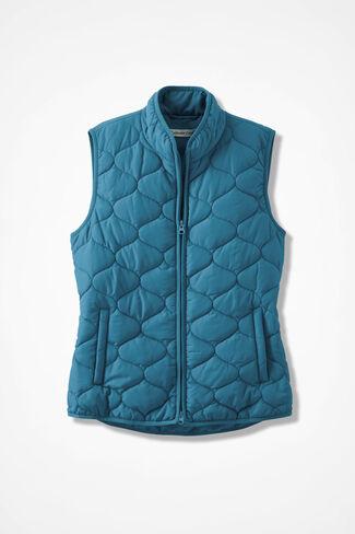 Vest for All Seasons, Mallard Blue, large