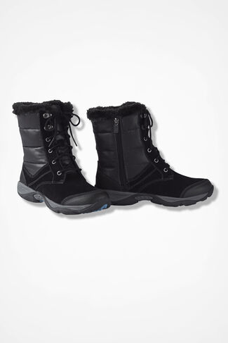 """Erl"" Boot by Easy Spirit®, Black, large"