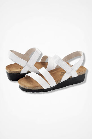 """Kayla"" Sandals by Naot®, White, large"