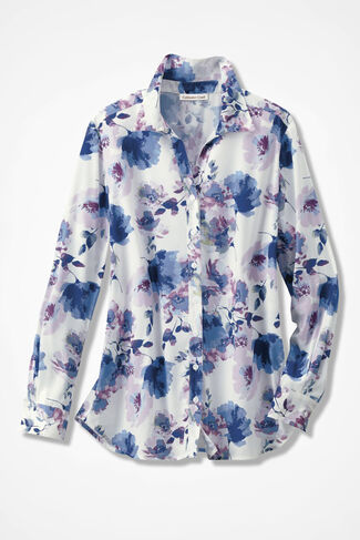 Flowering Ambiance Blouse, Ivory, large
