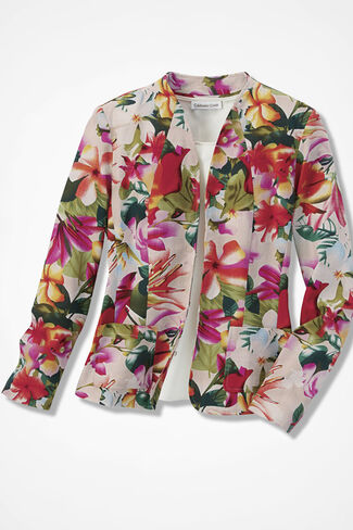 Floral Sonata Jacket, Multi, large