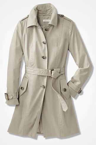 New Traditions Trench, Bone, large