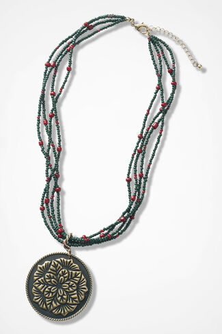 Greet-the-Day Necklace, Vine, large