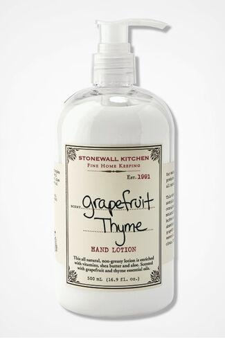 Stonewall Kitchen® Grapefruit Thyme Hand Lotion, Pink, large