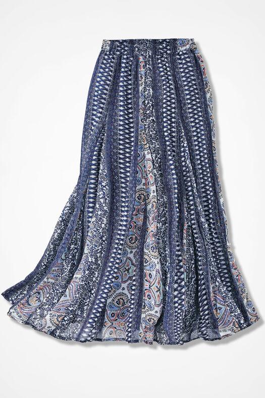 Prints à la Mode Maxi Skirt, Multi, large