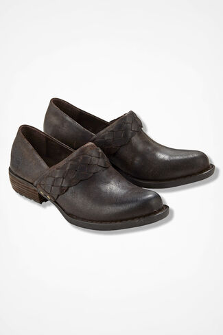 """Hensley"" Clogs by Born®, Dark Brown, large"
