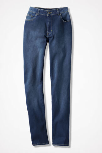 The Creek® Straight-Leg Jeans, Medium Wash, large