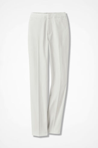 The CottonLuxe Gallery Pant, Ivory, large
