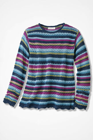 Wanderlust Striped Sweater, Multi, large