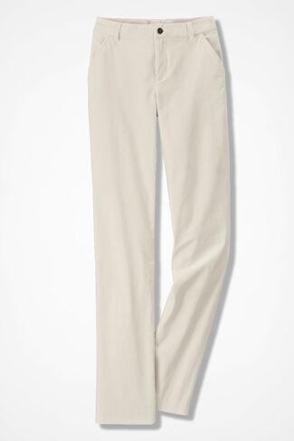 Velveteen Pants, Antique White, large