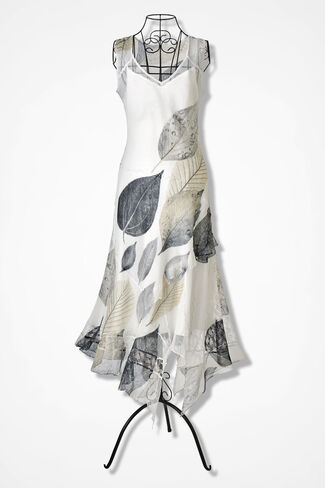 Ethereal Elegance Dress, Ivory, large