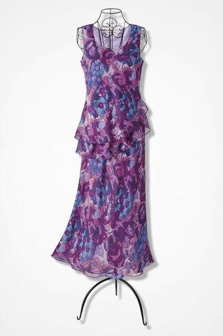 Rose Garden Tiered Dress, Floral, large