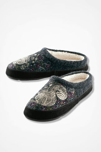 """Forest"" Mules by Acorn®, Grey, large"