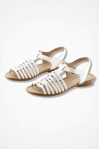 """""""Wade"""" Huaraches by Naturalizer®, White, large"""