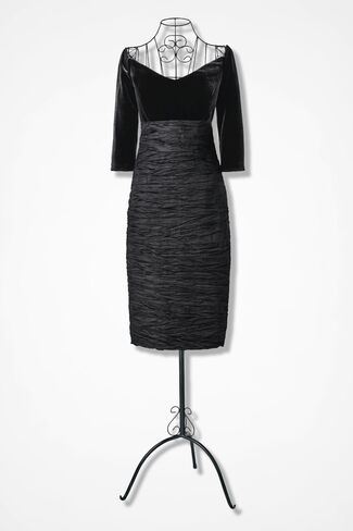 Opening Night Dress by Alex Evenings, Black, large