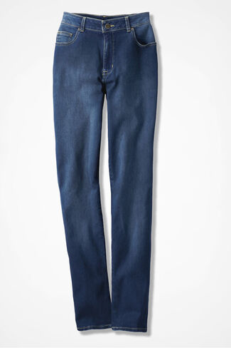 NEW The Creek® Slim-Leg Jeans, Medium Wash, large