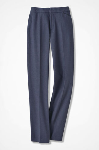 Relaxed Linen Pants, Ranch Blue, large