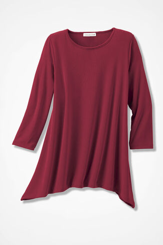 Destinations Swing Tunic, Red, large