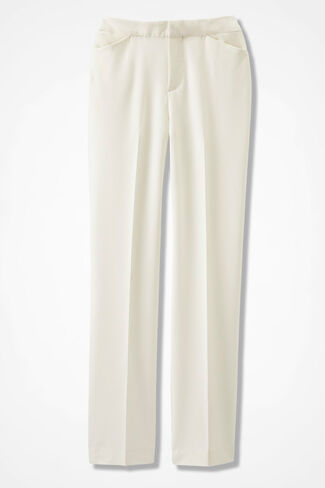The Bi-Stretch Gallery Pant, Antique White, large