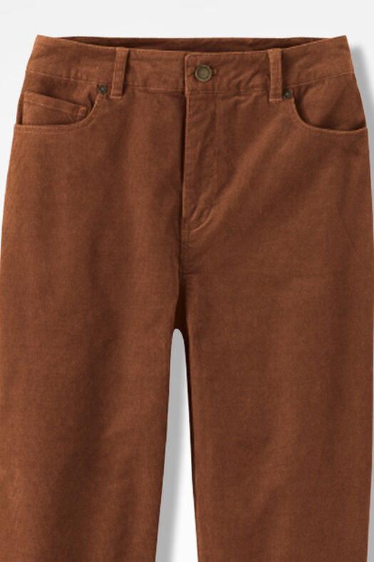 Pinwale Stretch Corduroys, Spice, large