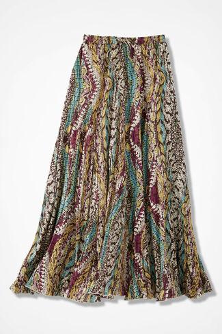 Desert Bloom Crinkle Skirt, Multi, large