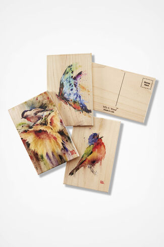 Cedar Art Postcard Set, Natural, large
