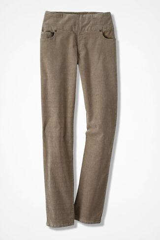 Pinwale Pull-On Stretch Corduroys, Desert Taupe, large