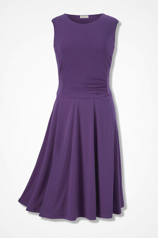 Party of Two Dress, Boysenberry, large