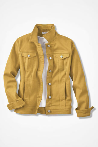 Denim Jacket, Honey, large