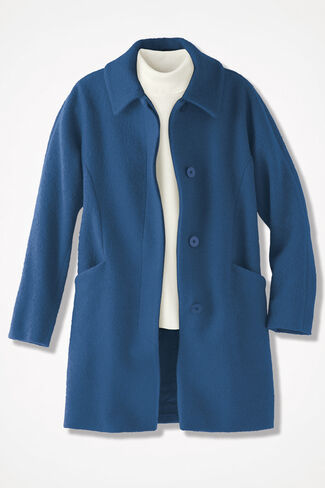 Town & Country Coat, Bright Blue, large