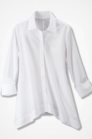 The Great White Shirt, White, large