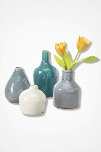 Terracotta Vase Set, Multi, large