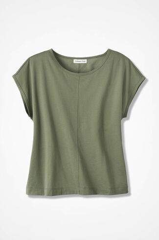 Casual Comfort Tee, Light Vine, large