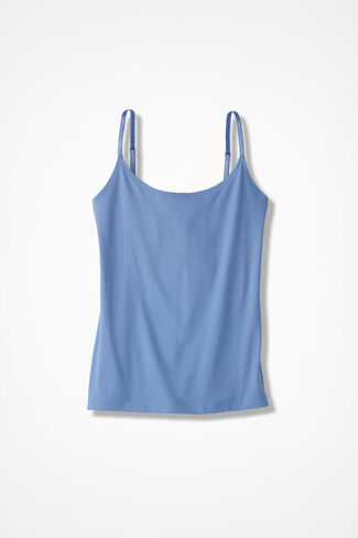 Essential Camisole, Medium Blue, large