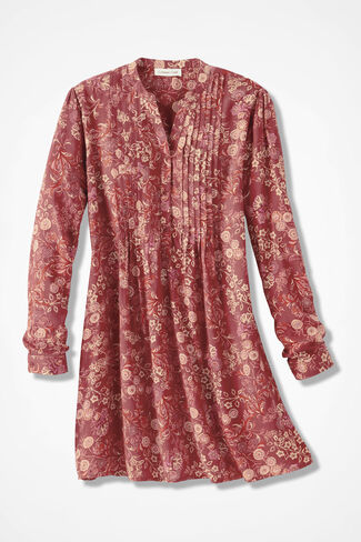 Cambridge Garden Tunic, Rust, large