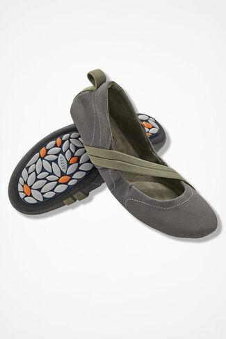 """""""Via Wrap"""" Slip-ons by Acorn®, Grey, large"""