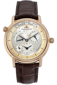 Geographique Rose Gold Automatic