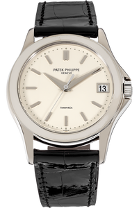 18K White Gold Calatrava Automatic Reference 5107