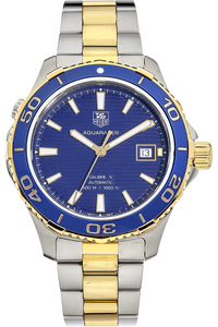 18K Yellow Gold and Stainless Steel Aquaracer Calibre 5 Automatic