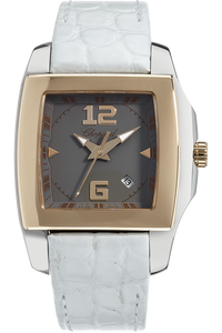 18K Rose Gold and Stainless Steel Two O Ten Quartz