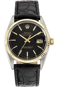 14K Yellow Gold and Stainless Steel Datejust Automatic Circa 1968